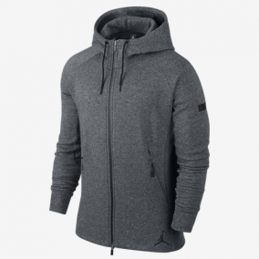 Толстовка NIKE JORDAN ICON FLEECE FZ HOODIE SP17 809470-010 SR